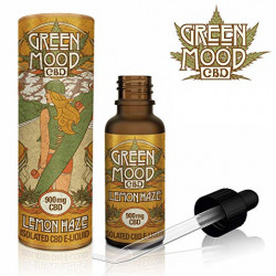 Green Mood CBD E-Liquid - LEMON HAZE