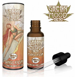 Green Mood CBD Mango Kush E-Liquid