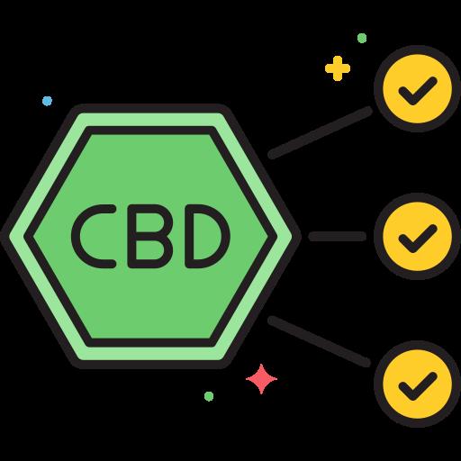 Massen CBD Produkte Icon